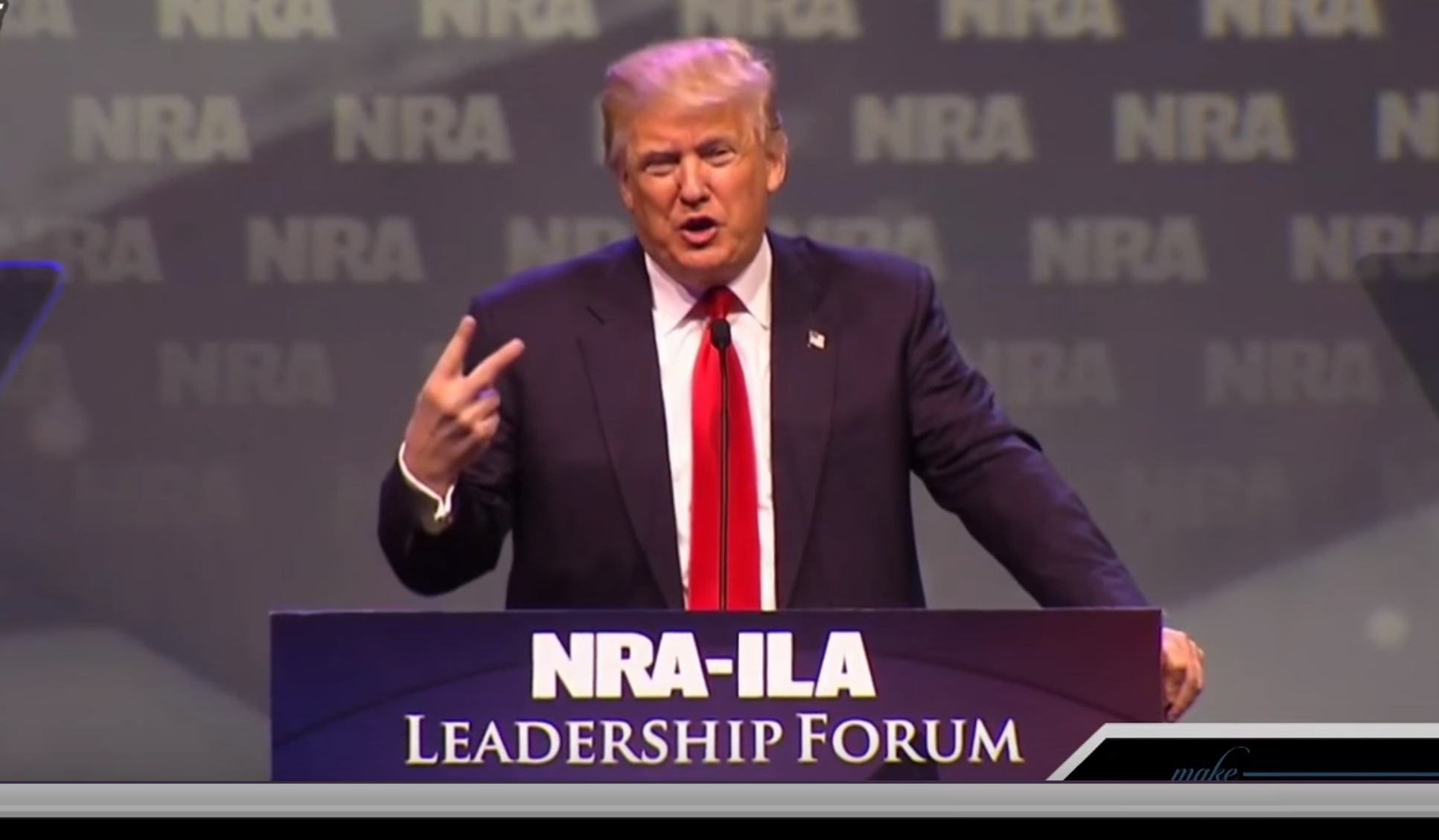 Senate Intel Committee: We Have Evidence Showing The 'Kremlin Used' NRA To Help Trump In 2016