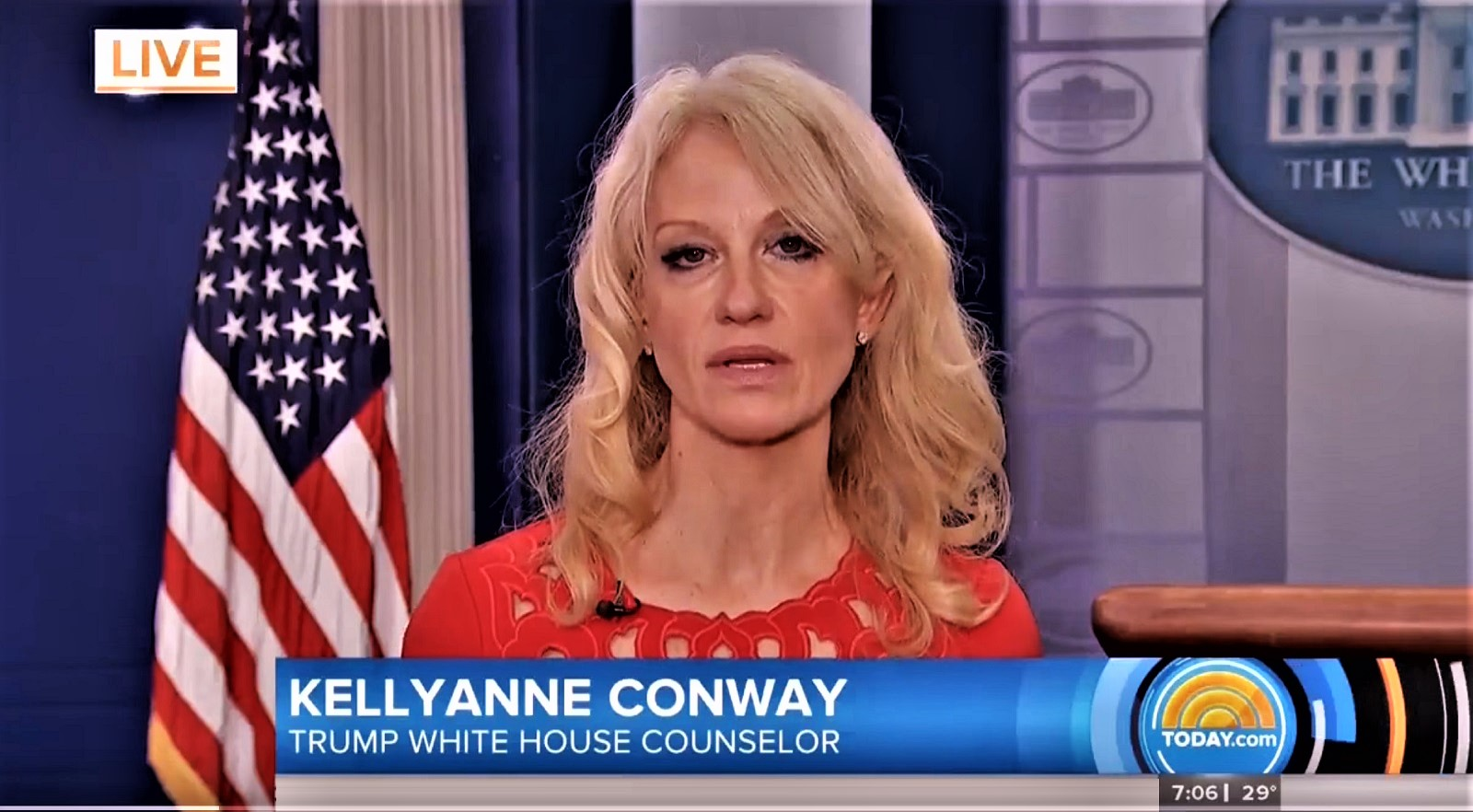 Conway Claims White House Video Was 'Sped Up' Not 'Altered': 'They Do It All The Time In Sports'