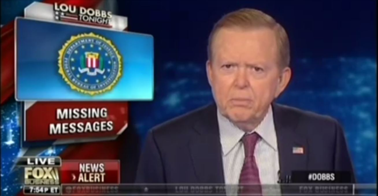 Fox's Lou Dobbs Calls For US Marshals To Take 'Top People