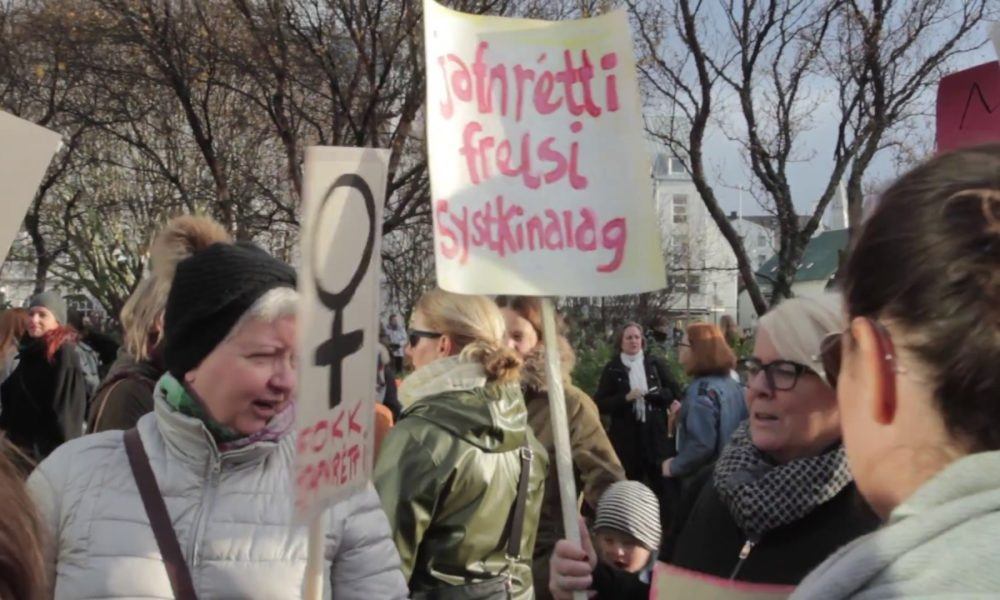 Iceland Becomes First Country To Make Equal Pay Mandatory