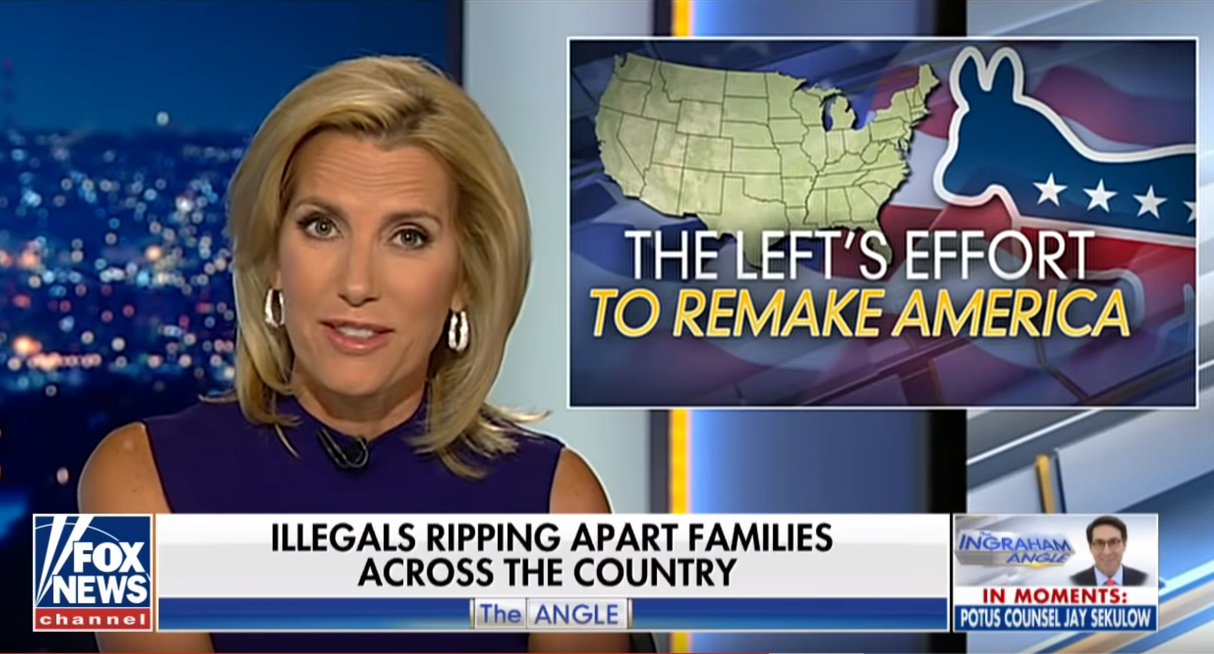 Fox News' Ingraham Disavows White Supremacists' Embrace Of Her 'Racist' Anti-Immigrant Tirade