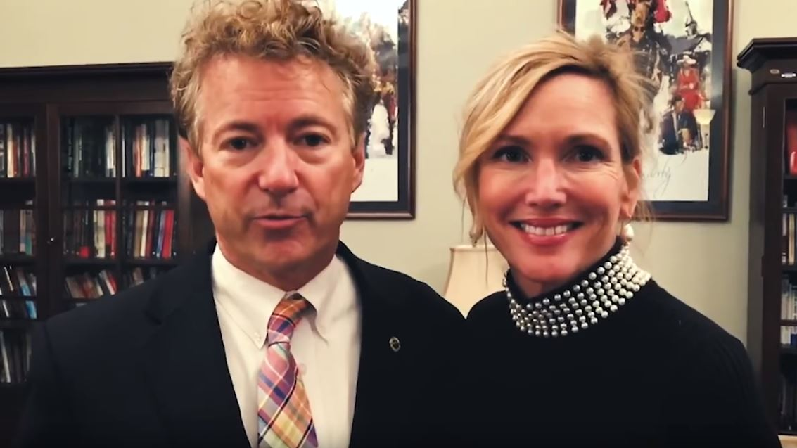 Sen. Rand Paul's Wife Says She Keeps 'A Loaded Gun' By Her Bed Out Of Fear Of Liberal Attacks