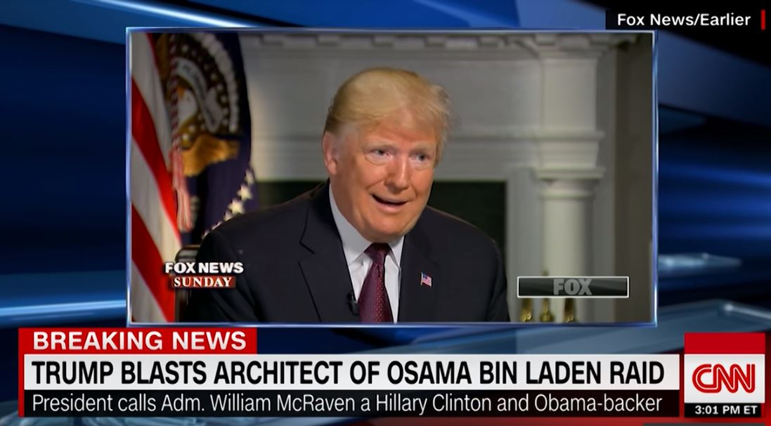 Retired General Calls Trump 'A Failure' After 'Disgusting' Attack Of Navy SEAL Who Killed Bin Laden