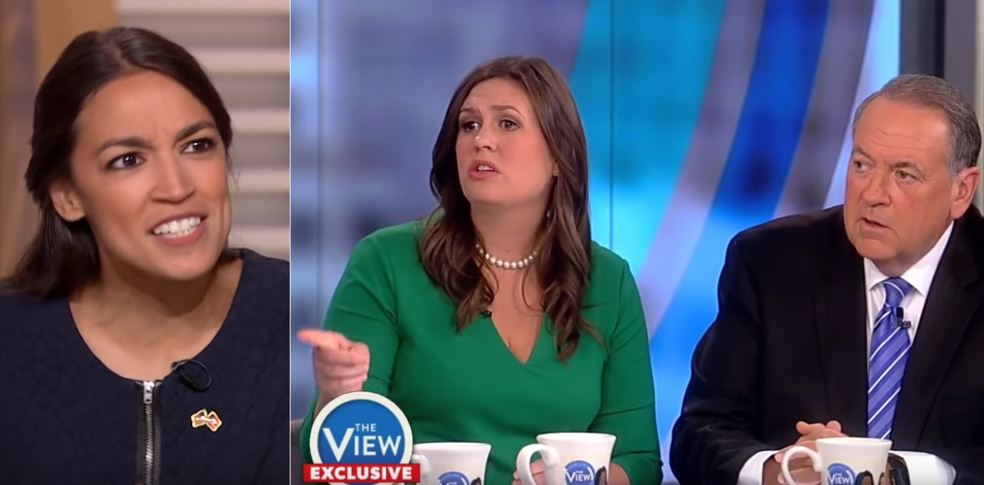 Ocasio-Cortez Torches Mike Huckabee: Leave The Lying To Your Daughter, 'She's Much Better At It'