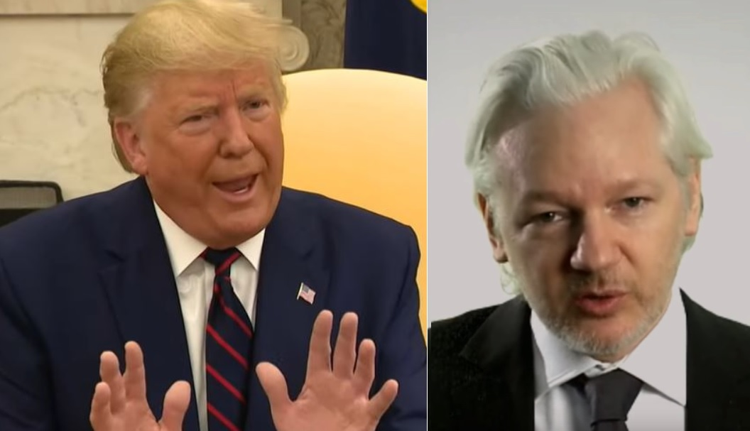 Trump Offered To Pardon Julian Assange If He Promised To Say Russia Didn't Hack DNC, Lawyers Tell Court
